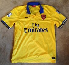Arsenal Away Camiseta de manga corta 2013/14 de tamaño grande