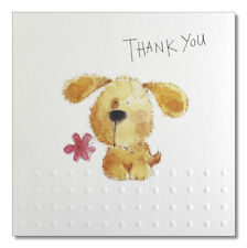 Scruffy Dog Thank You cards - Luxury 8 pack from CCA Occasions