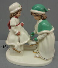 Lenox Going Skating Mother Daughter Figurine Nib