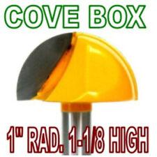 """1pc 1/2"""" SH 1"""" Rad, 1-1/8"""" Blade Cove Box Core Box Router Bit  sct-888"""