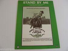 Stand By Me sheet music Urban Cowboy John Travolta cover by Ben E King +