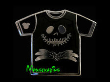 NBC Nightmare Chrismas JACK SKELLINGTON T-Shirt Disney Completer pin
