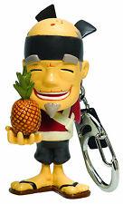 Fruit Ninja Sensei PINEAPPLE Keychain Keyring Blade Slice Video Game Halfbrick