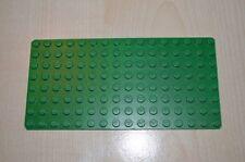 00509 LEGO Baseplate 8 x 16 green