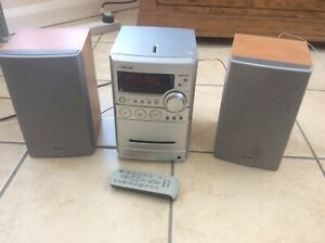 SONY CMT-NEZ3 Mini Shelf HiFi Stereo System, CD, Cassette Tape AM/FM Radio