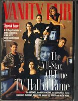 JENNIFER ANISTON FRIENDS GEORGE CLOONEY ER Vanity Fair Magazine 12/95 TV HOF
