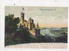 Schloss Stolzenfels Am Rhein 1904 Postcard Germany 636a