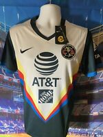 Nike Club America 2020/ 2021 Away Soccer Jersey 🔥 Size Medium Men Talla M