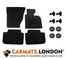 Bmw X3 2003 - 2010 Tailored Car Floor Mats Complete Fitted Set in Black