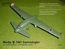 Gotha P.50/I Lastensegler mit Raketen 1/72 Bird Models Resinbausatz / resin kit
