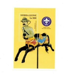 VINTAGE CLASSICS - Sierra Leone 1272 - Carousels - Souvenir Sheet -MNH