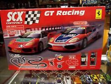 SCX 1:43 GT RACING SLOT CAR RACE SET #31660.....SET#1