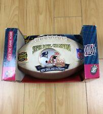 NFL Super Bowl XXXVIII Limited Edition Football 2004  Patriots Panthers Champion