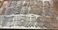 Lot Of Vintage Misc Train Track  Pieces Lot A -Of 72
