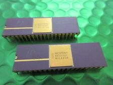 MK50816P, RARE Vintage Mostek IC, 8 Bit AD Convertor, Gold top and pins. NEW!