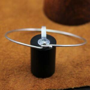 """James Avery Large Wire """"Hook-On"""" Bracelet Sterling Silver Size 8"""" BR-20"""