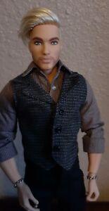 Hybrid OOAK Ken Doll With Superman Body & GDT90 Ken Head Muscular 1/6 Scale Male