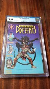 Dark Horse Presents #36 Variant CGC 9.6 WP 1990 1st Aliens vs. Predator Marvel!