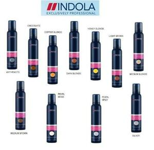 Indola Professional Hair Coloured Mousse Temporary Hair Colour -Free UK Post...