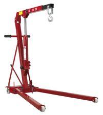 Sealey Tools PH10 1 Tonne Folding Engine Crane Hoist Lift Hydraulic Low Profile