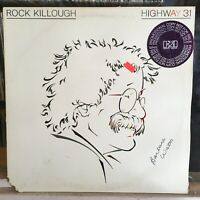 [ROCK/POP]~EXC LP~ROCK KILLOUGH~Highway 31~[Original 1980~ELEKTRA~WLP PROMO]~