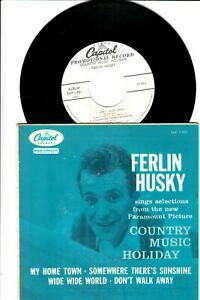 RARE1958 FERLIN HUSKY EP WITH COVER~COUNTRY MUSIC HOLIDAY~CAPITOL 921~VG++