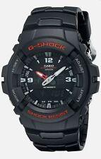Casio G-Shock G-100-1BVMCI Black/Red Sports Watch Tough, Water Resistant Digital