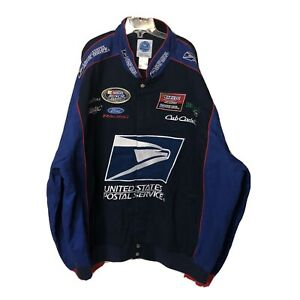Post Office Collectors Sports NASCAR Cotton Twill Jacket - Men's Size 4XL- New