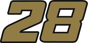 NEW FOR 2019 - #28 Davey Allison Racing Sticker Decal - Various colors