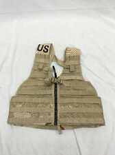 DCU MOLLE II Fighting Load Carrier W/ Padded Belt FLC VEST US Army Desert Storm