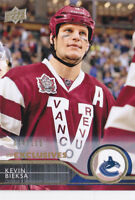 14-15 Upper Deck Kevin Bieksa /100 UD Exclusives Canucks 2014
