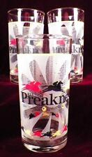 3 Preakness Glass Tumblers 2010 Pimlico The Maryland Jockey Club Horse Racing