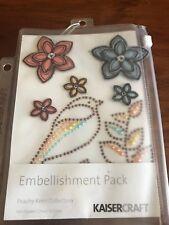 Kaisercraft Peachy Keen Collection Embellishment Pack - Brand New