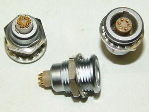 LEMO Größe 1B 1-Codierte Buchse 6 Pole EGG.1B.306.CLL kompl. - NOS new old stock