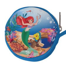 The Little Mermaid Ariel Canvas Mini Circular Wallet Coin Purse p77 w0048