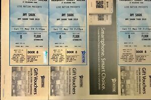 Amy Shark Tickets (Saturday 11th May) - 3 Available @ $50each