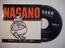 NAGANO ALL STARS : PUSH IT TO THE LIMIT ♦ CD SINGLE PORT GRATUIT ♦
