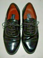 Bostonian Classic Mens Black Cap Toe Oxfords Shoes 20350 Size 8W