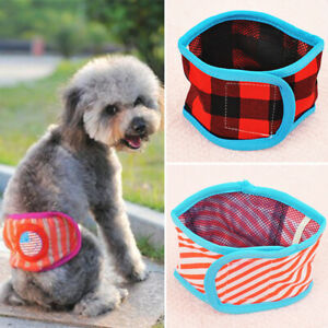 Male Dog Physiological Pants Underwear Cotton Belly Band Sanitary Diaper XS-XL