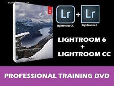 Adobe Photoshop Lightroom 6 & CC – Professional Video Training Tutorial DVD