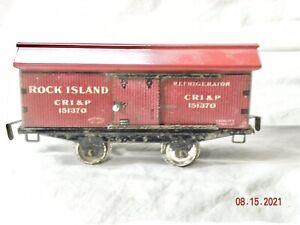 Ives Rock Island 4 wheel Herald