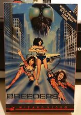 BREEDERS The Sexual Invasion VHS WIZARD VIDEO BIG BOX 1986