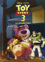 Toy story 3. La grande fuga, DISNEY LIBRI, PIXAR, COPERTINA RIGIDA 9788852210549