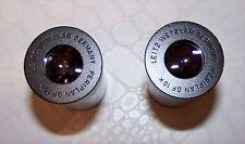 Leitz Wetzar Periplan Eyepieces x 2.  GF 10x  23.2mm.