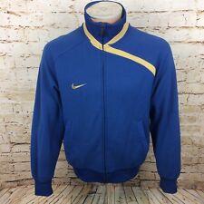 Nike Track Top Giacca Tuta Da Ginnastica Blu SZ Medium/M DA UOMO