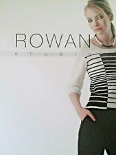 ROWAN STUDIO ISSUE 32 DESIGNS FOR WOMAN KNITTING PATTERN BOOK