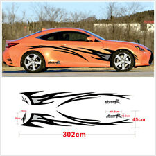 Car styling DREAM-R Flame Graphics design accessories Car body decor cover Decal