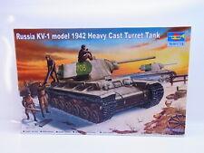 55370 Trumpeter 00359 Russia KV-1 model 1942 Turret Tank 1:35 Bausatz NEU OVP