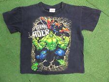 vintage spiderman versus Hulk yourth tshirt size XS