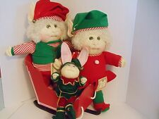 Cabbage patch 1988 Christmas Edition   Hand signed by Xavier Roberts